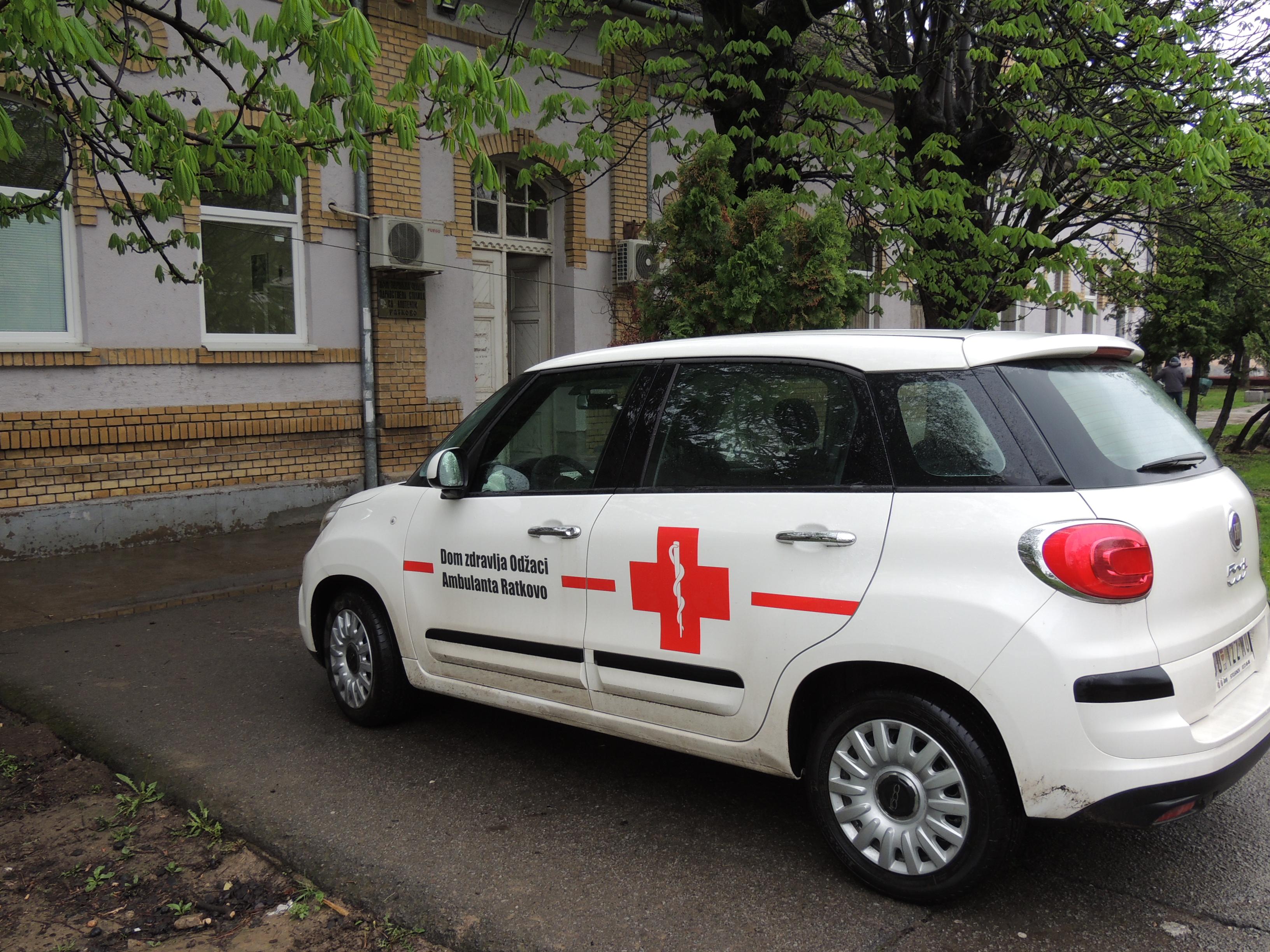 Phi Academy донирала аутомобил Дому здравља Оџаци