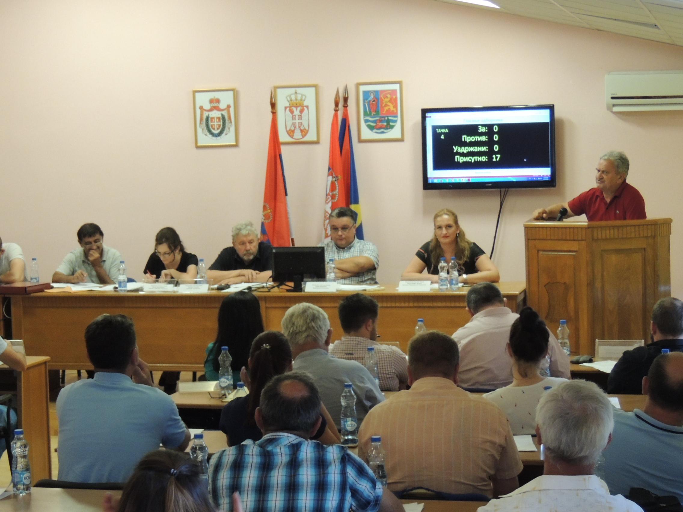Одржана 24.седница Скупштине општине Оџаци