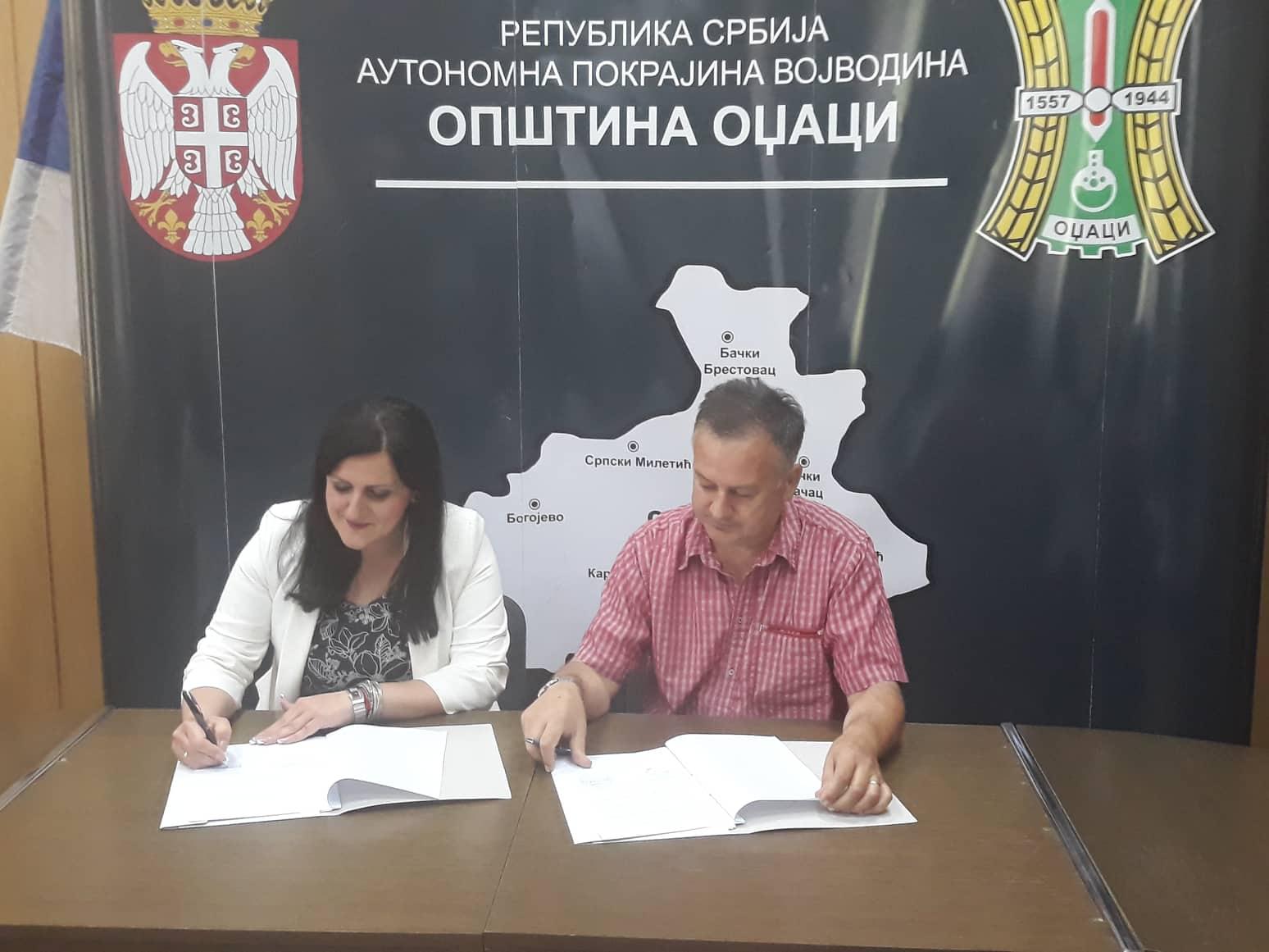 Општина Оџаци и Меteor commerc потписали Уговор о поклону