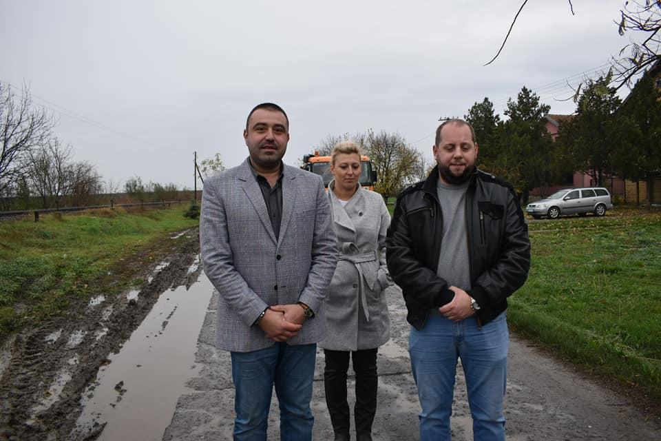Радови на санацији Улице Десанке Максимовић