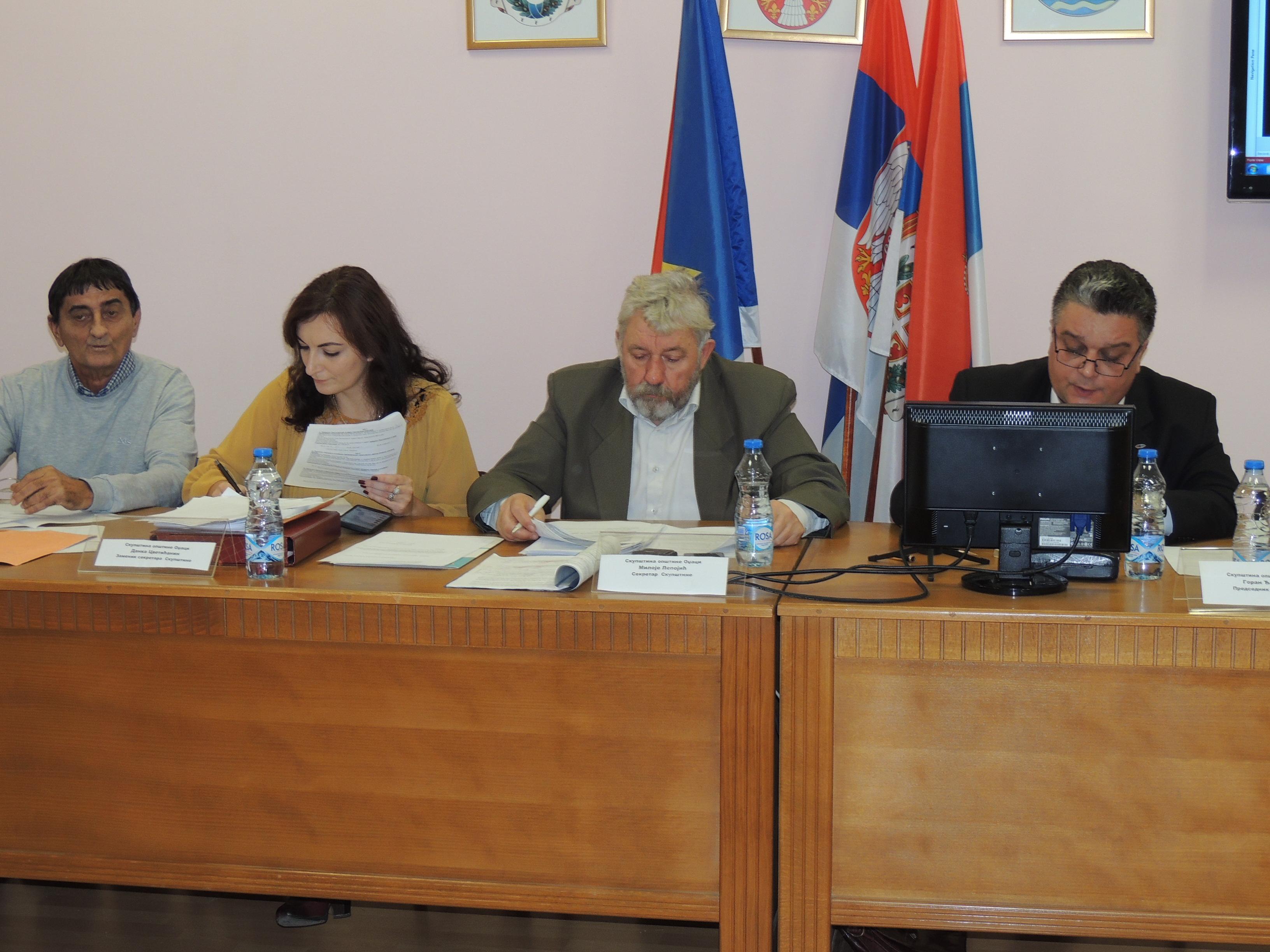 Одржана 29.седница Скупштине општине Оџаци