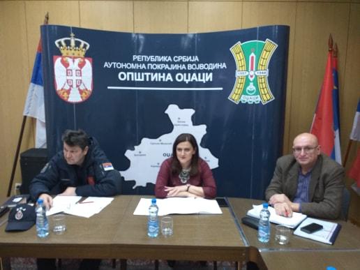 Одржана трећа седница Општинског штаба за ванредне ситуације