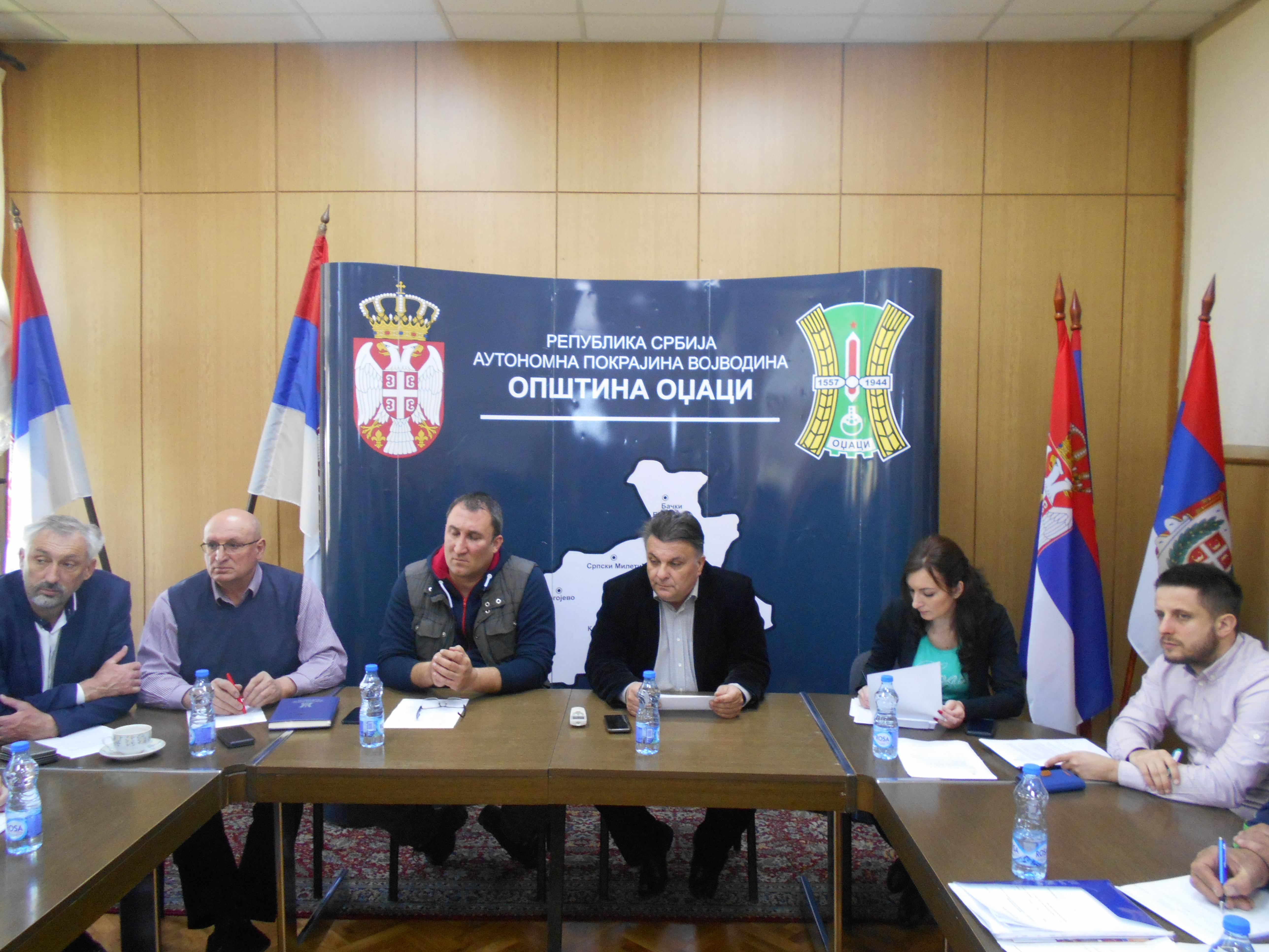 Одржана 5.седница Штаба за ванредне ситуације општине Оџаци