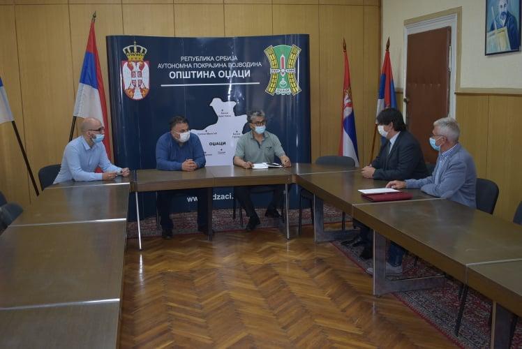 Радни састанак са председником Бициклистичког савеза Србије