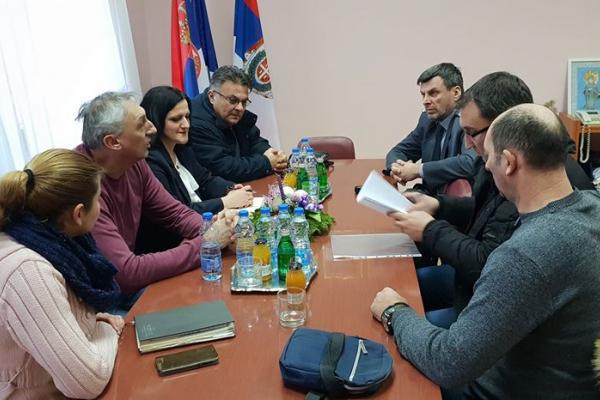 Састанак са управником Управе царине Сомбор поводом решавања проблема преотерећености саобраћајнице  на граничном прелазу Богојево