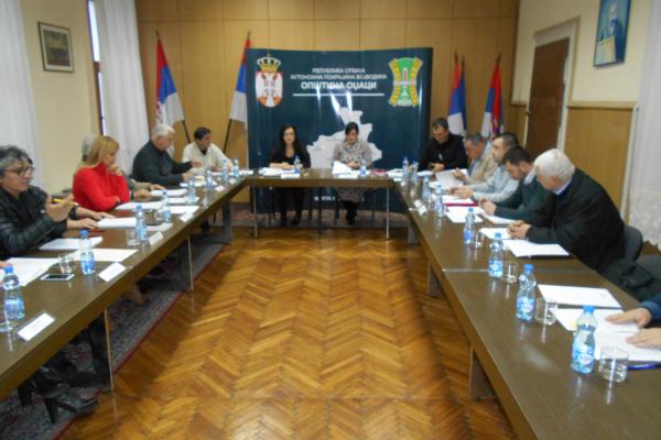 Oдржана 64.седница Општинског већа општине Оџаци