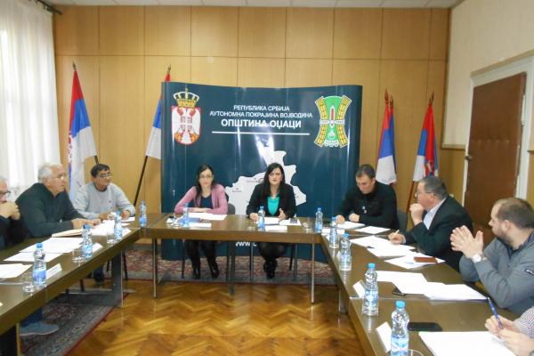 Одржана 65.седница Општинског већа општине Оџаци