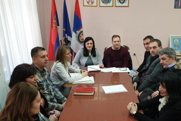 Радни састанак са представником  Канцеларије за јавна улагања Републике Србије