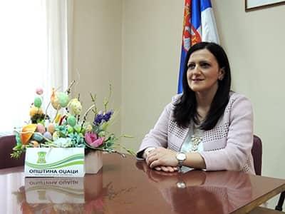 Председница општине Оџаци честитала Ускрс по грегоријанском календару