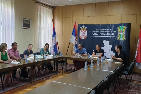 Састанак представника општине Оџаци са представницима Развојне Агенције Војводине и Фонда Европски послови