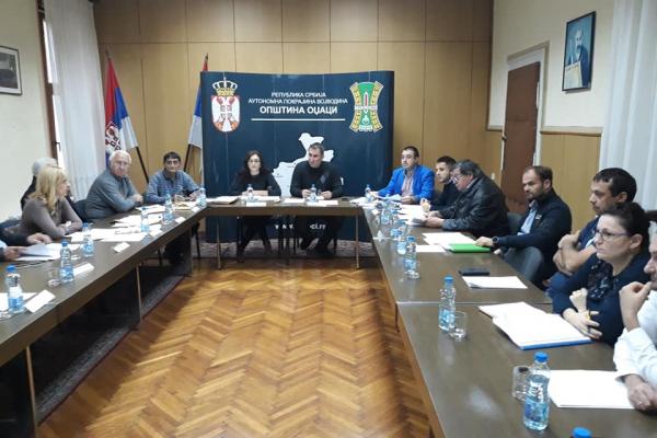 Одржана 88.седница Општинског већа општине Оџаци