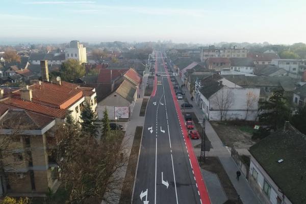Реконструкција Железничке улице завршена пре рока-данас пуштен саобраћај