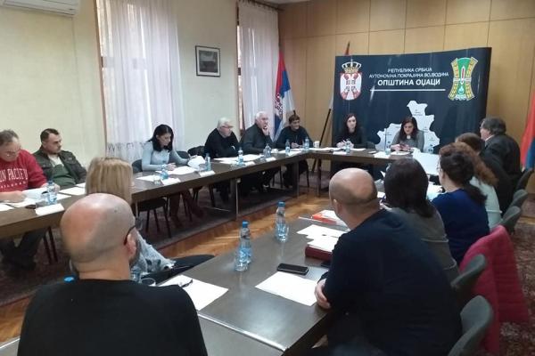 Oдржана 90.седница Општинског већа општине Оџаци