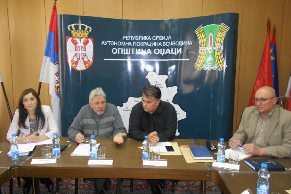 Формиран Привремени орган општине Оџаци