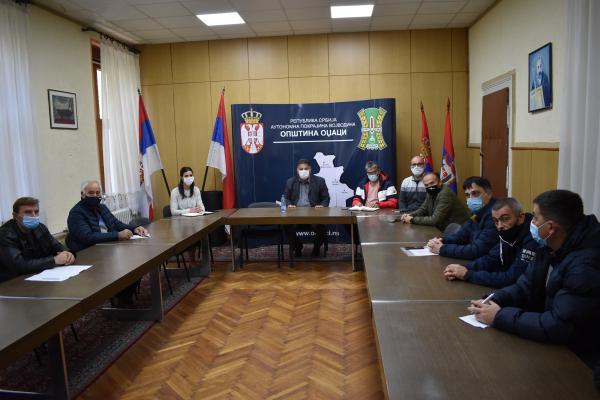 Састанак представника локалне самоуправе са представницима фудбалских клубова