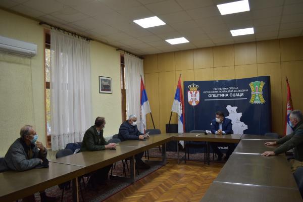 Председник oпштине одржао састанак са ловачким удружењима