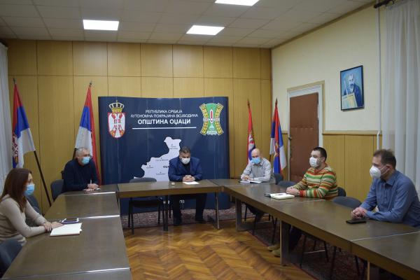Састанак Општинског штаба за ванредне ситуације општине Оџаци