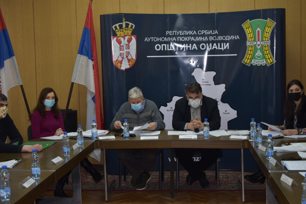 Одржана 15. седница Општинског већа општине Оџаци