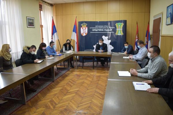 Радни састанак са директорима предузећа и установа