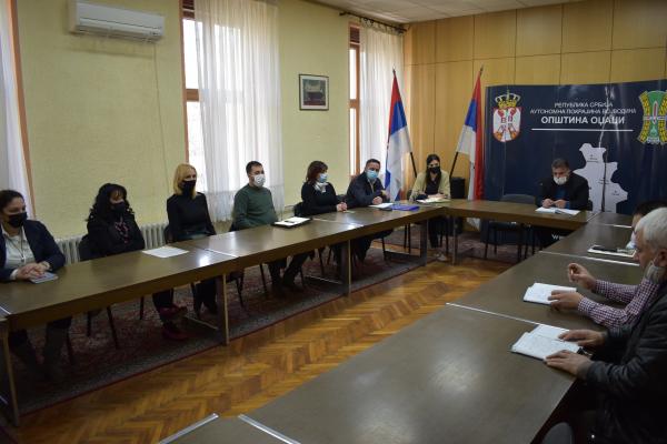 Састанак са директорима предузећа и установа