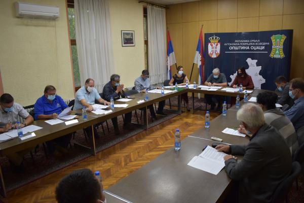 Одржана 44. седница Општинског већа општине Оџаци