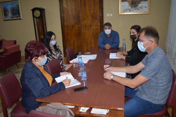 Радни састанак са др Драгославом Чубрило в.д. директорком Завода за јавно здравље у Сомбору
