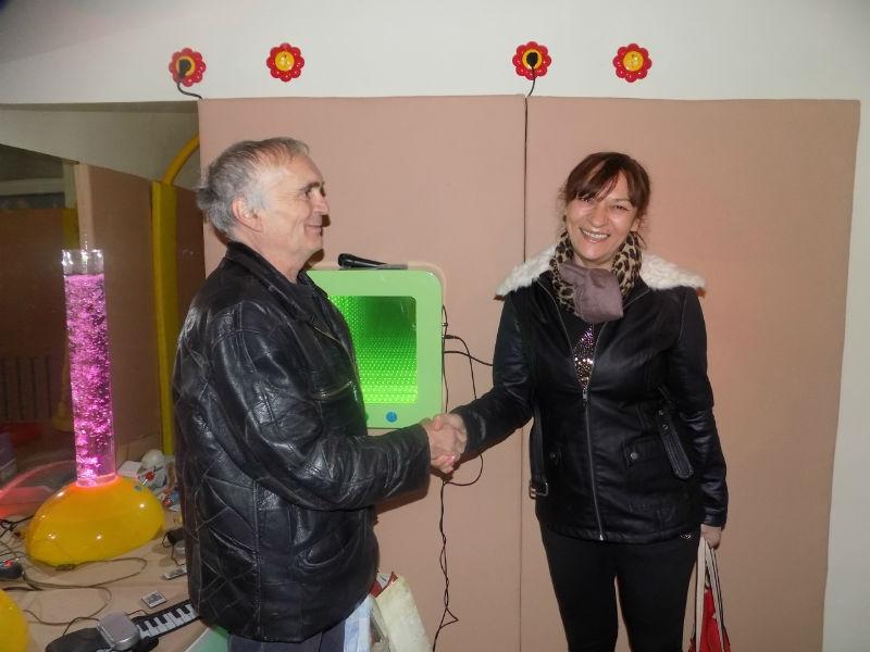 У Удружењу за помоћ МНРО отворена сензорна соба