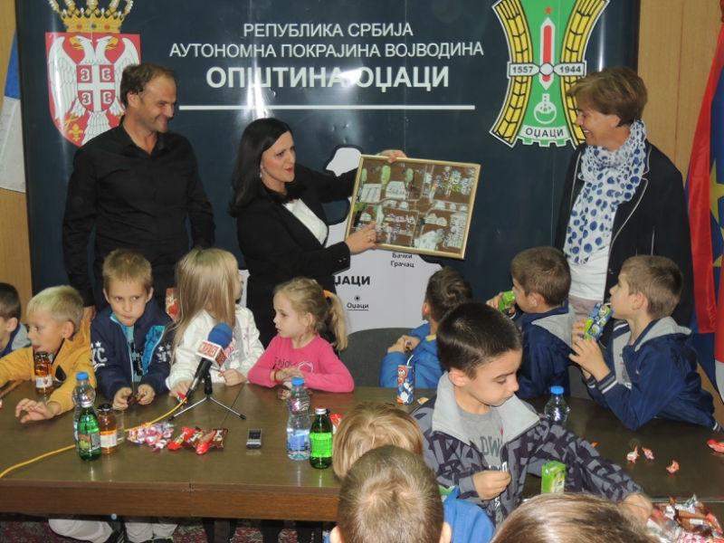 Пријемом код председнице општине почела Дечија недеља