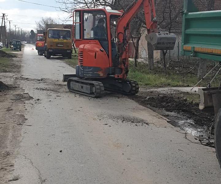 Почетак радова на изградњи и реконструкцији атмосферске канализације у Каравукову