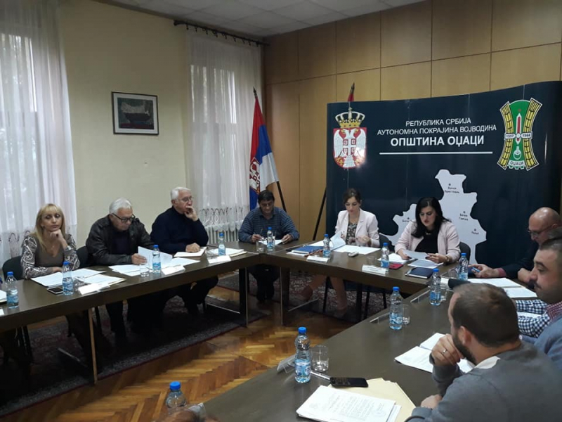 Одржана 86. седница Општинског већа општине Оџаци