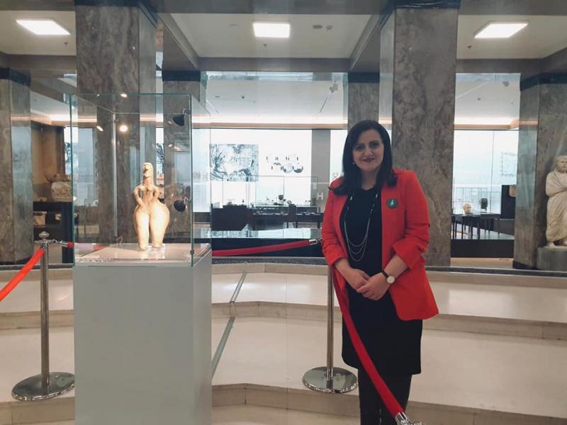 Црвенокоса богиња - нови експонат Народног музеја у Београду