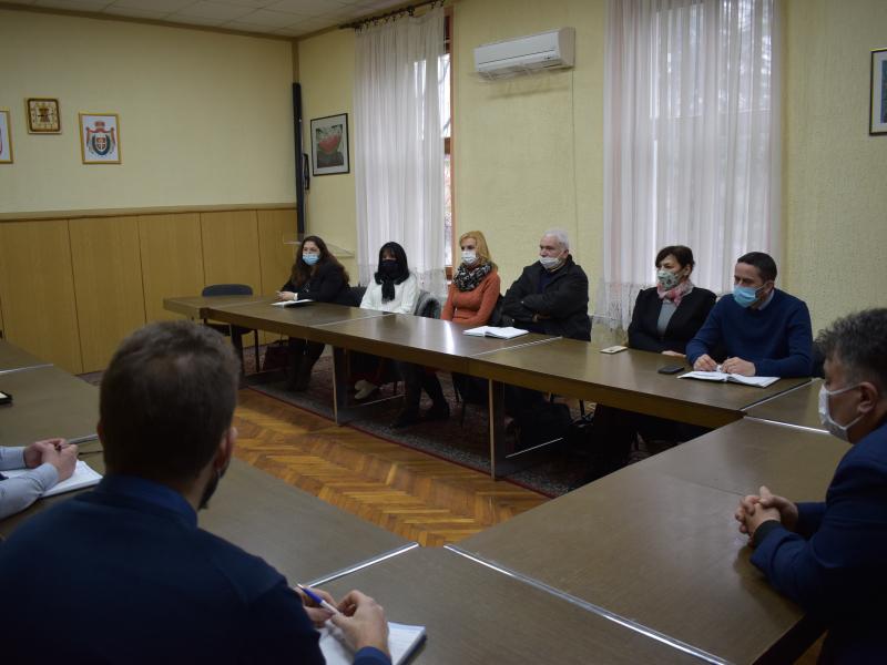 Председник општине одржао састанак са директорима јавних предузећа