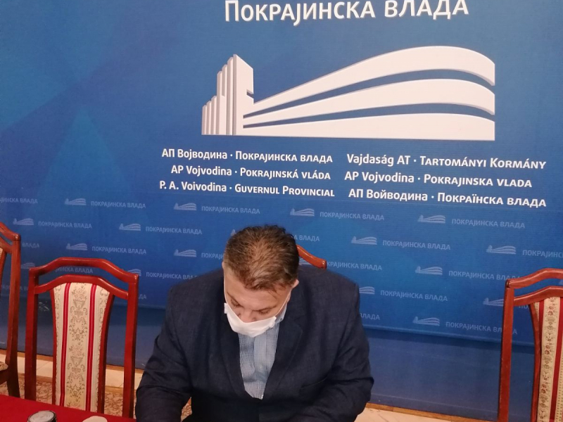 Потписан уговор између Управе за капитална улагања Аутономне покрајине Војводине и Општине Оџаци