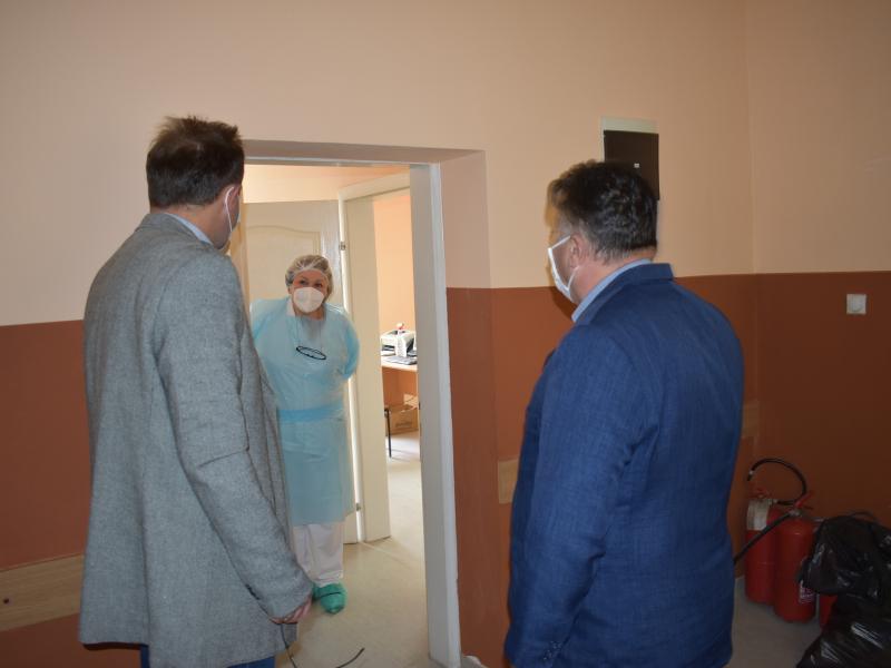 Обилазак служби Дома здравља у Оџацима