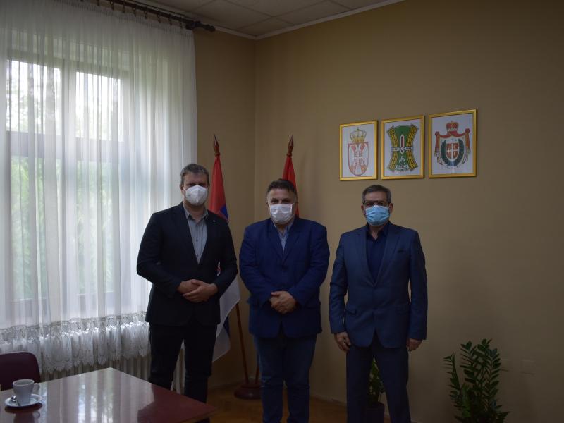 Заменик Парошки и подсекретар Миланковић у радној посети Општини Оџаци
